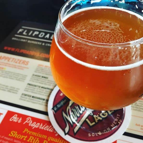 Bourbon Barrel Ale at Flipdaddy's